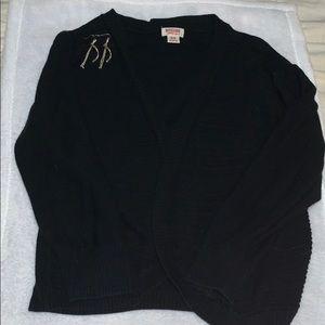 Black 3/4 sleeve shrug